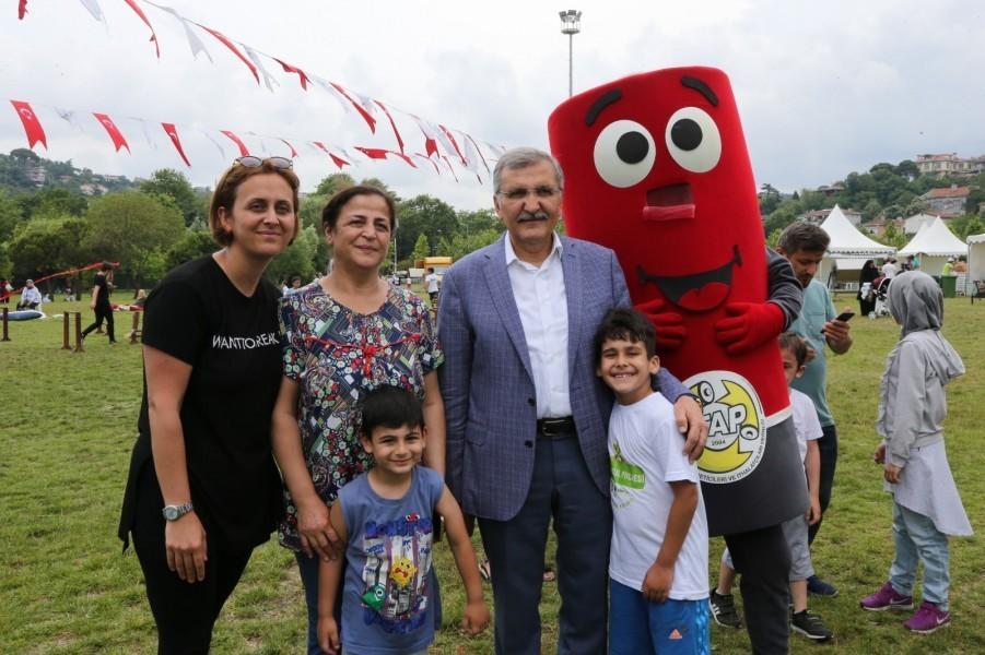 Tarihi Küçüksu Çayırı'nda eğlence dolu 'Çevre Festivali'