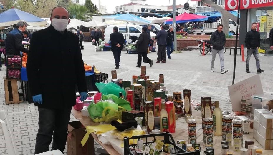 Tarihi Osmaneli Lefke pazarı sessiz