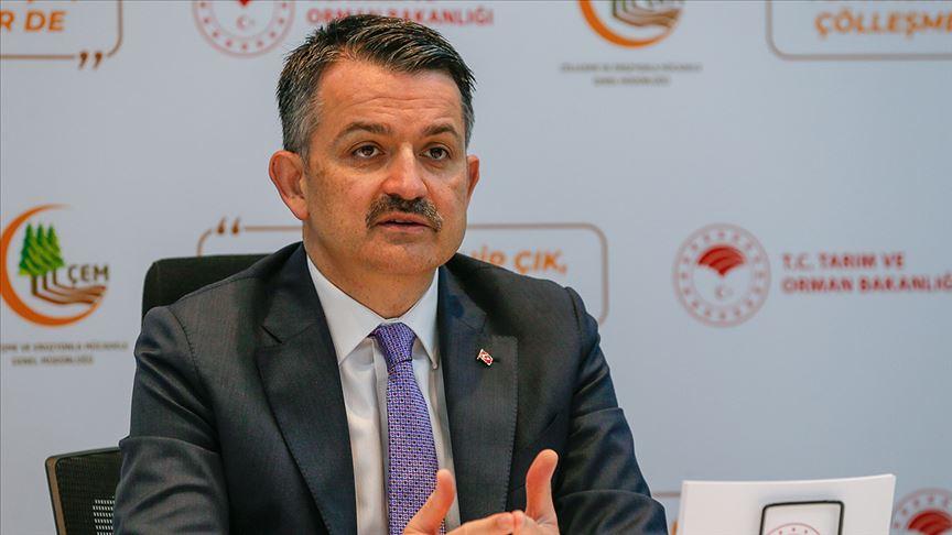 Tarım ve Orman Bakanı Pakdemirli: Kıbrıs adası kadar büyük bir alanda, erozyon kontrol çalışması yaptık
