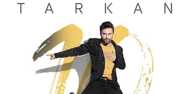 """Tarkan'ın yeni albümü """"10"""" fizy'de"""