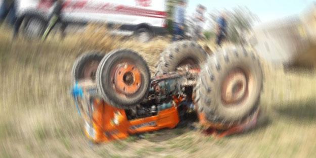 Bursa'da bir çiftçi traktörden düşerek ezildi