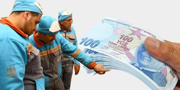 Taşeron işçiye asgari ücret zammı son dakika