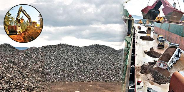 Muğla'da Zultanit taşı vurgunu