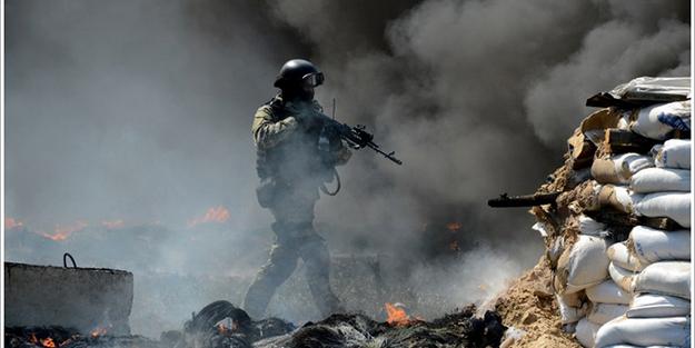 Rusya'dan Ukrayna'ya gözdağı tatbikatı