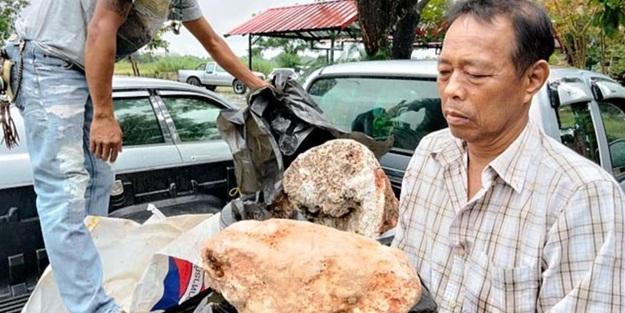 Taylandlı balıkçı buldu! Bu kusmuk 250 milyon TL değerinde