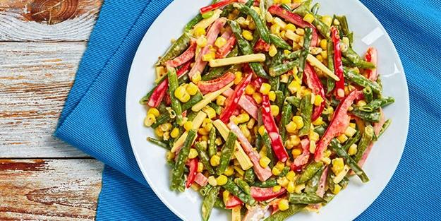 Taze fasulye salatası nasıl yapılır? Taze fasulye salatası tarifi ve malzemeleri