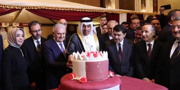 TBMM Başkanı Binali Yıldırım, Katar Milli Günü resepsiyonuna katıldı