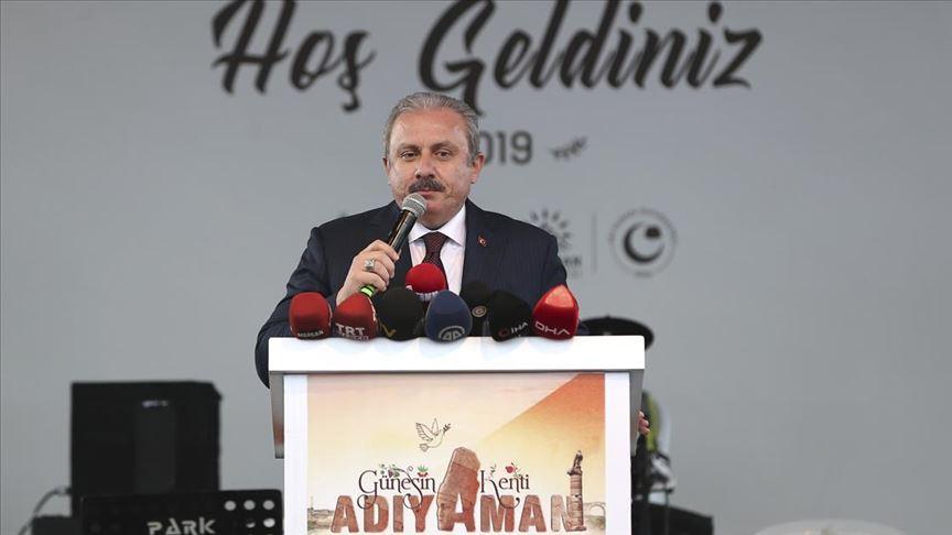 TBMM Başkanı Mustafa Şentop: Bizi tehdit edenlerin güvendikleri dağlara kar yağdıracak güçteyiz