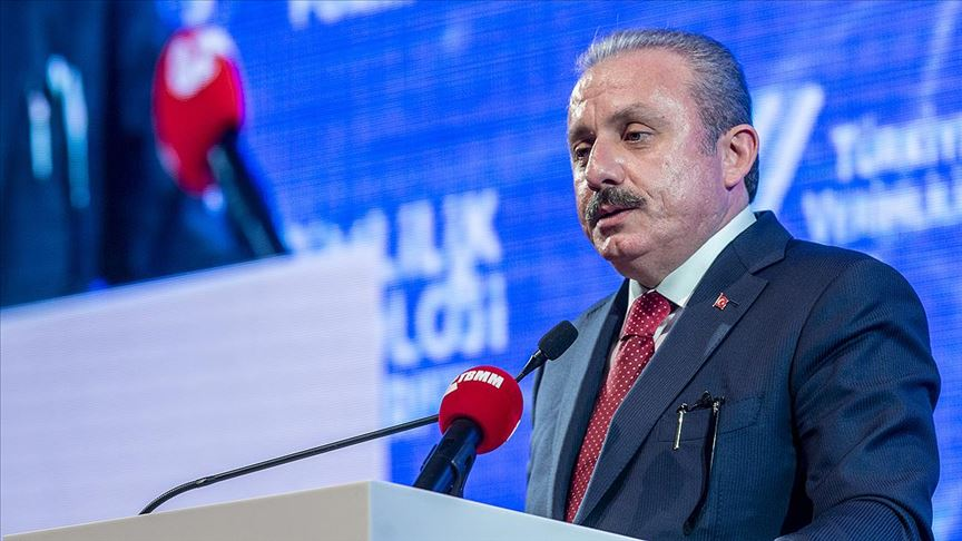 TBMM Başkanı Mustafa Şentop: İsraf ettiğimiz değerlerle her yıl en az 6 İstanbul Havalimanı yapabiliriz