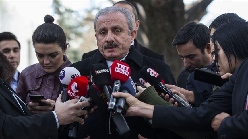 TBMM Başkanı Mustafa Şentop: Libya ile mutabakat birçok hesabı bozdu
