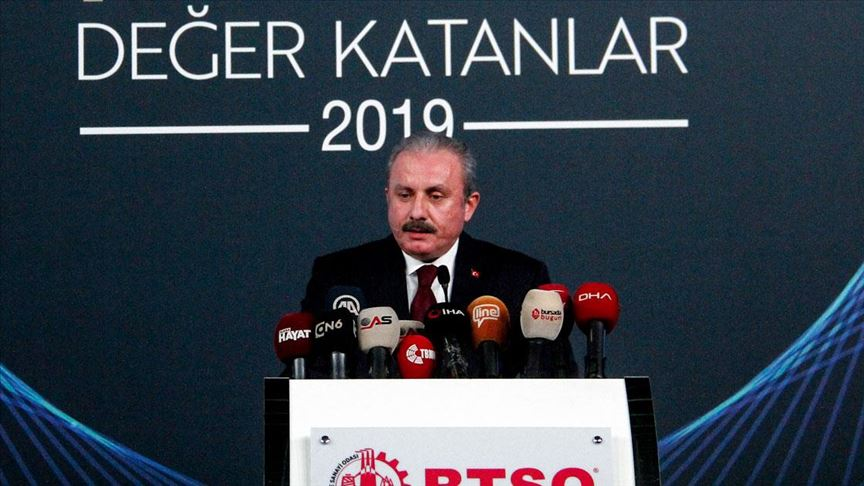 TBMM Başkanı Mustafa Şentop: Parçalanmamızı bekleyenler ebediyete kadar bekleyecekler