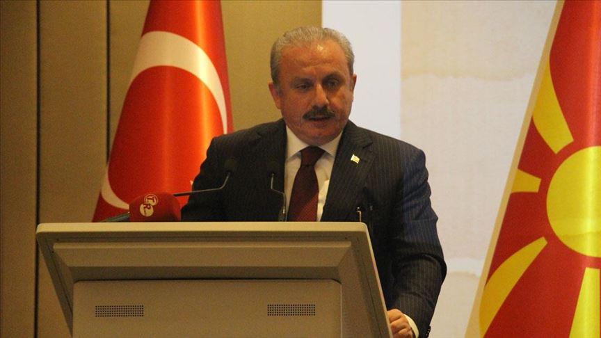 TBMM Başkanı Mustafa Şentop: Toplumların en temel sorunlarından biri ötekine düşmanlık yapmak