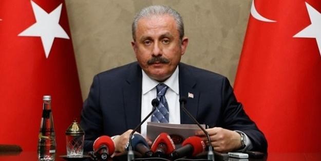 TBMM Başkanı Şentop'tan Ali Erbaş'a destek!