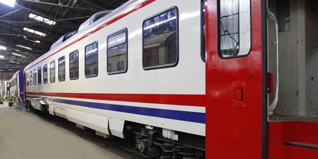 TCDD, yolcu vagonlarını ısıtarak depremzedelerin hizmetine açtı!