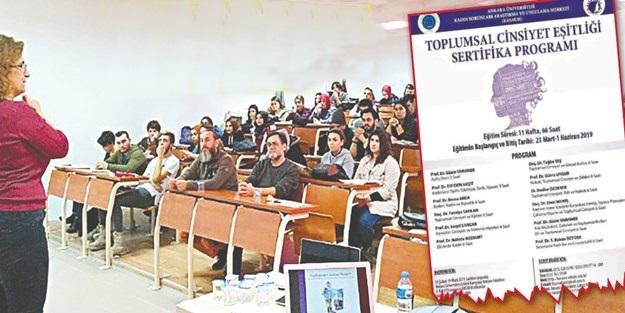 TCE zırvası Ankara Üniversitesi'ne sıçradı