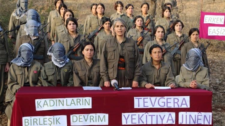 Tecavüzcü PKK'dan Kadınlar günü tiyatrosu!