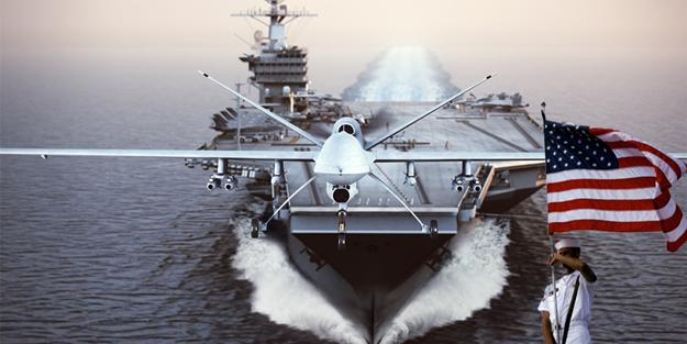 Tehlikeli yakınlaşma! ABD uçak gemileri ile bölgede
