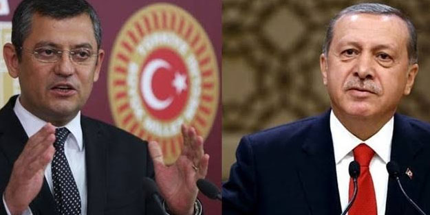 Tek bir dikili ağacı olmayan Özgür Özel, Erdoğan'ı hedef aldı