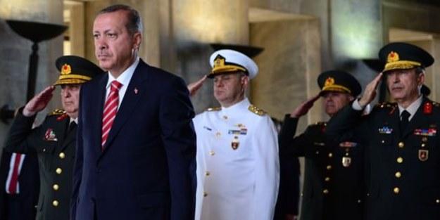 Tek devlet, tek ordu ve BAŞKOMUTAN Erdoğan