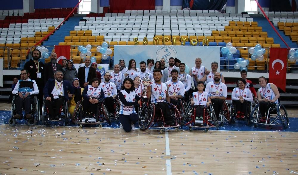 Tekerlekli Basketbol 1. Lig'inde Keçiören Eller Gücü Şampiyon