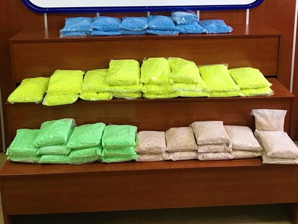 Tekirdağ'da 1 yılda yaklaşık 1 ton uyuşturucu ele geçirildi