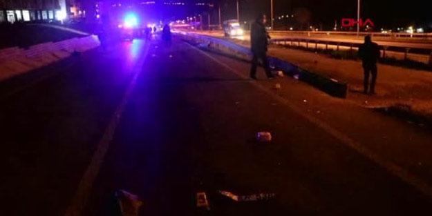 Tekirdağ'da otomobilin çarptığı 2 kişi öldü