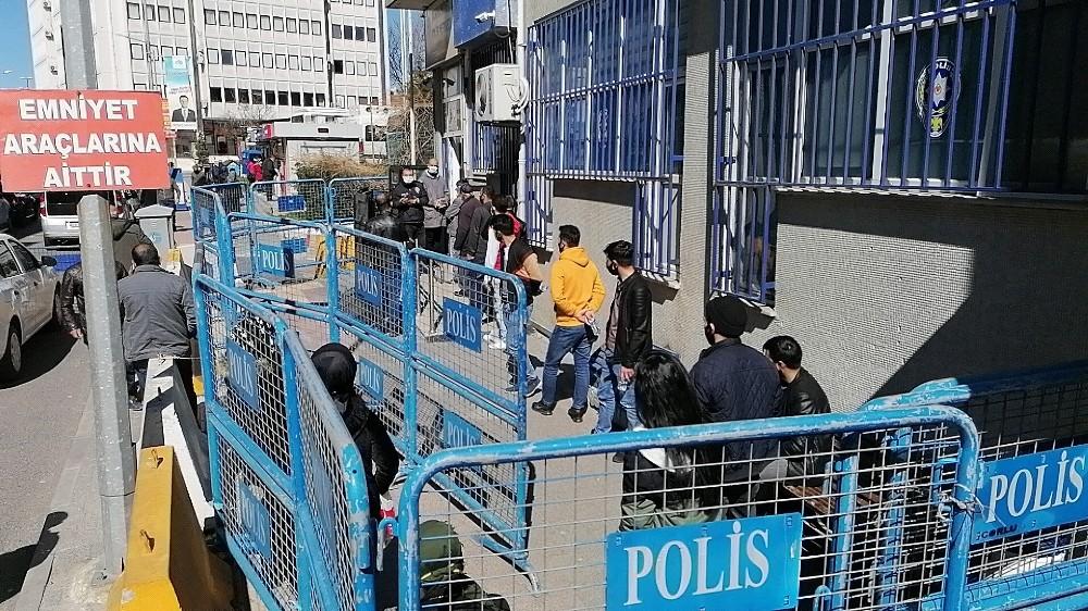 Tekirdağ'da sosyal mesafe uygulaması 25 kişiye ceza