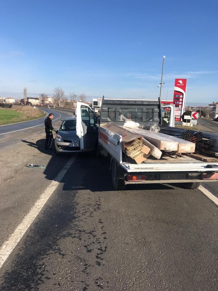 Tekirdağ'da trafik kazası: 5 yaralı