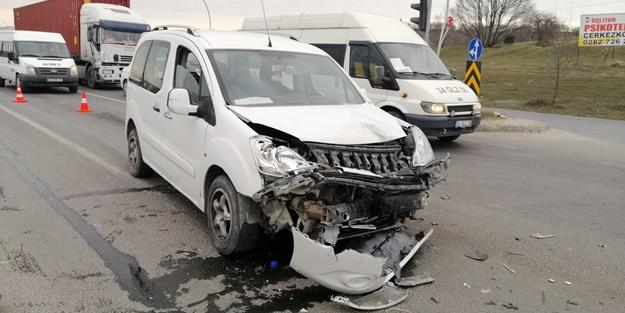 Tekirdağ'da trafik kazası: Yaralılar var