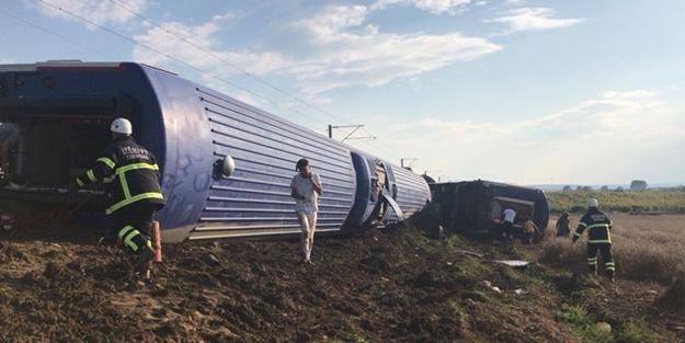 Tekirdağ'daki tren kazasında ne kadar ölü ve yaralı var?