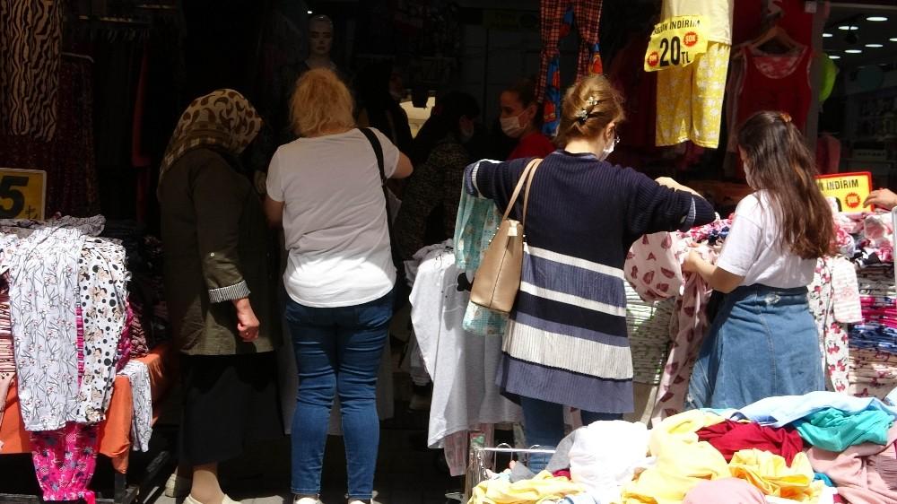 Tekstil esnafının umudu Kurban Bayramı'na kaldı