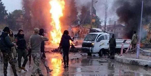 Tel Abyad'da bombalı saldırı! Ölü ve yaralılar var
