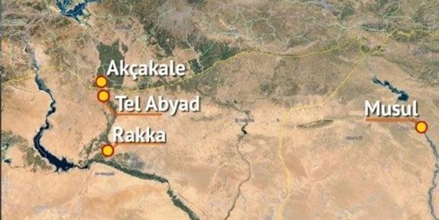 Tel Abyad'da çatışmalar başladı