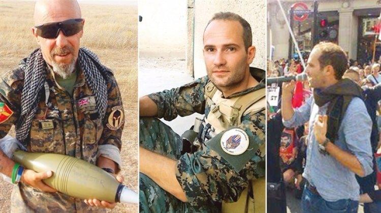 Televizyonda sözde aktivist, Suriye'de terörist