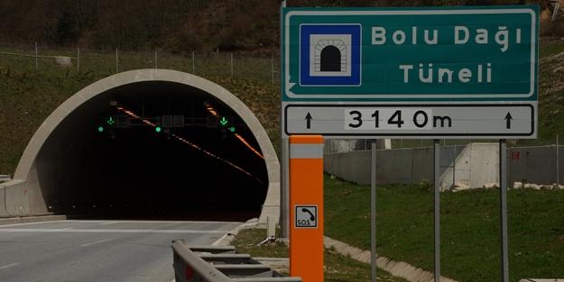 Bolu Dağı Tüneli ulaşıma kapatılıyor!