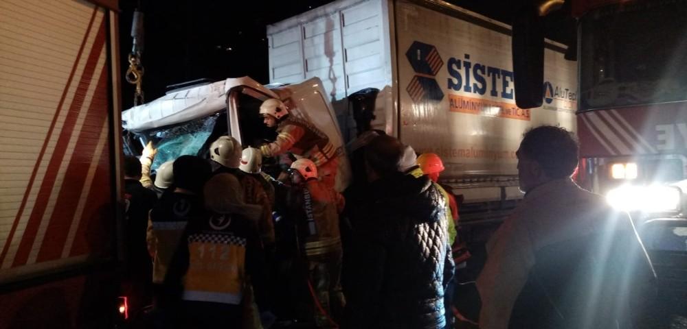 TEM Otoyolu'nda kaza: 1 ölü, 1 yaralı