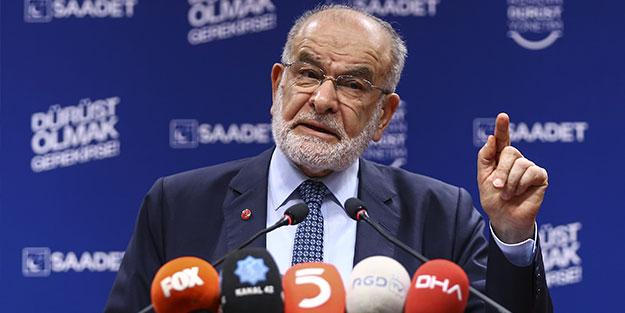 Temel Karamollaoğlu'ndan flaş çıkış: Hükümetin tavrına destek veriyoruz
