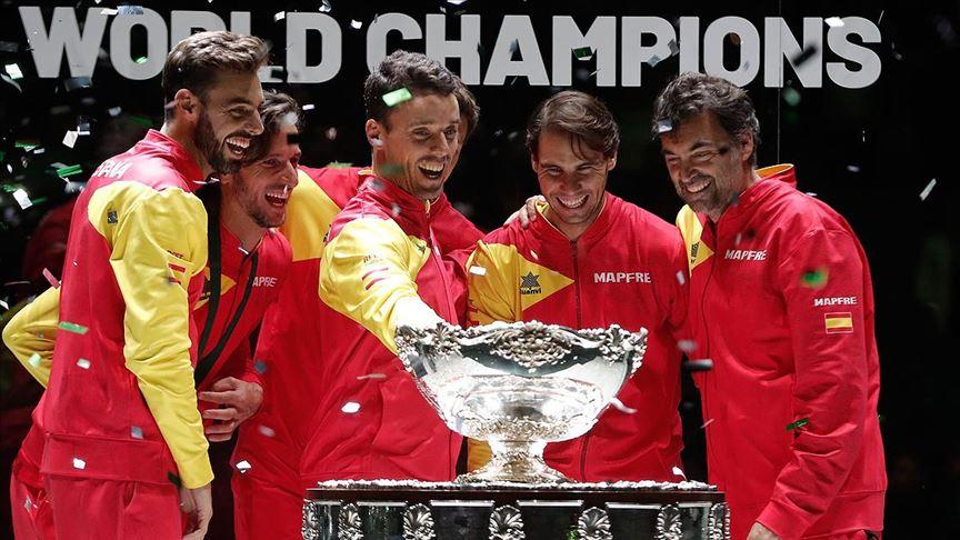 Teniste Davis Kupası İspanya'nın