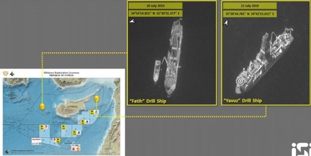 Terör devleti İsrail, sondaj faaliyetindeki Türk gemilerinin görüntülerini ve konumunu yayınladı