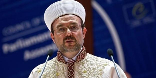 Terör devleti İsrail'den Mehmet Görmez'in katılacağı sempozyuma alçak engelleme!