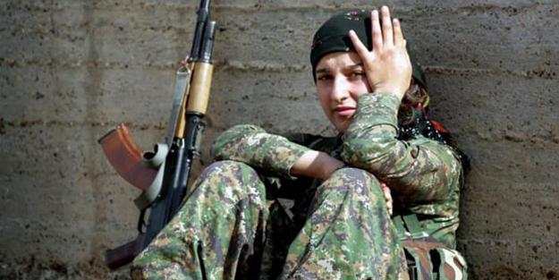 Terör örgütü PKK gözünü Arap kızlara dikti!