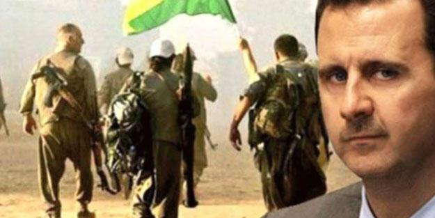 Katil Esad ile PKK birbirine girdi