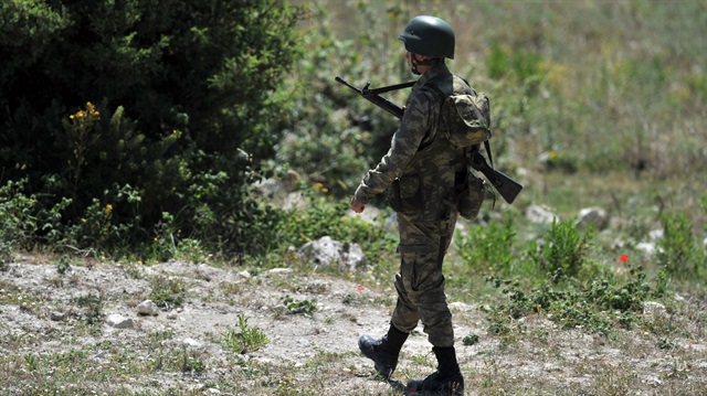 Terör örgütü PKK'nın mühimmat deposu ele geçirildi