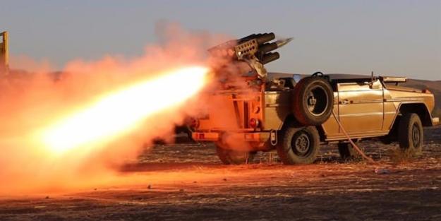 PKK'dan Türkiye sınırına füze rampası!