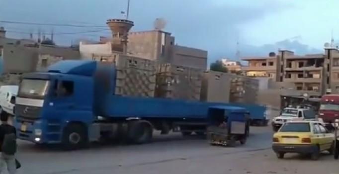 Terör örgütü PKK'ya ABD tarafından verilen ağır silahlar Türkiye sınırında