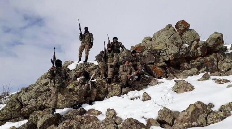 TERÖR ÖRGÜTÜ PKK'YA DARBENİN FOTOĞRAFI!