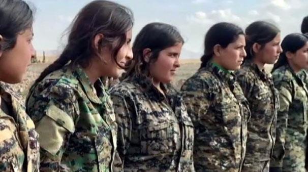 TERÖR ÖRGÜTÜ PYD/PKK ÇOCUKLARI ZORLA SİLAH ALTINA ALIYOR