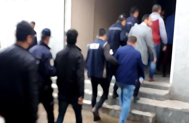 Terör örgütünün inine girildi: 7 gözaltı