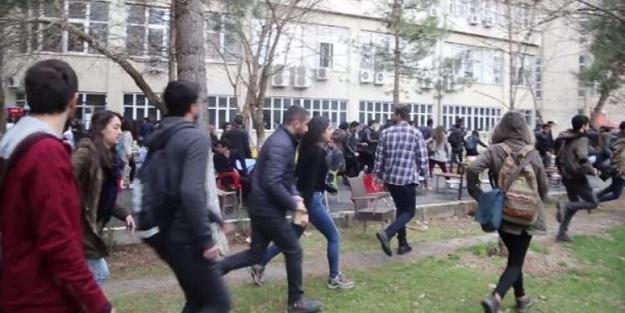 Terör örgütünün sözde marşını söyledi, Dicle Üniversitesi karıştı!