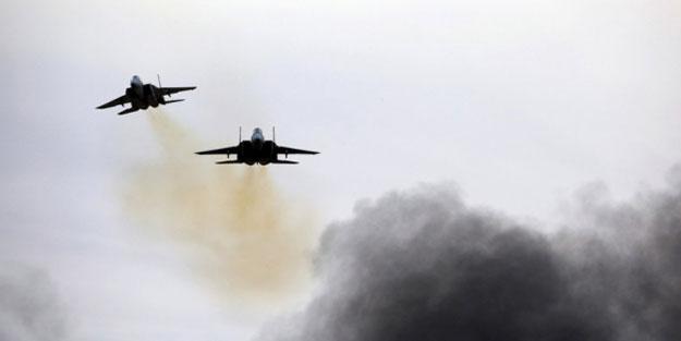 Terörist devlet Humus'u vurdu